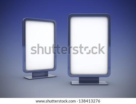 Lightbox - stock photo