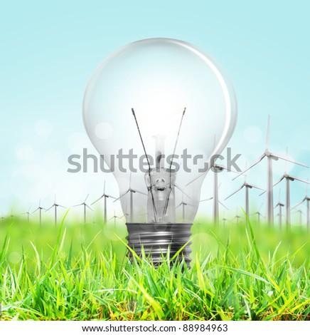 Lightbulb - stock photo