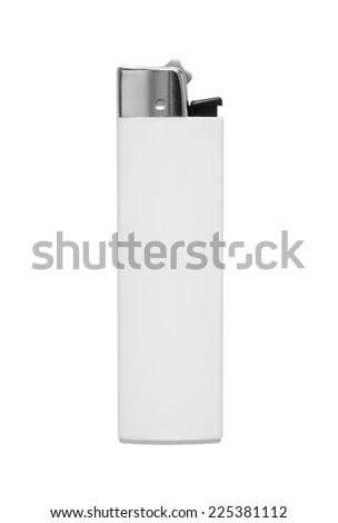 lighter on white background - stock photo