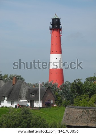 Lighthouse at Pellworm, germany