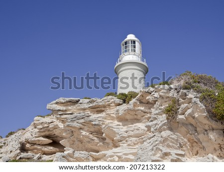 Lighthouse at Rottnest Island, Western Australia