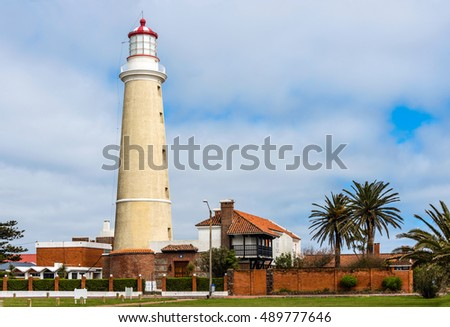Lighthouse in Punta del Este, Maldonado, Uruguay