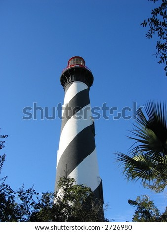 Lighthouse in Saint Augustine, Florida