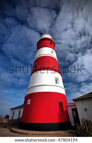LightHouse in UK - stock photo