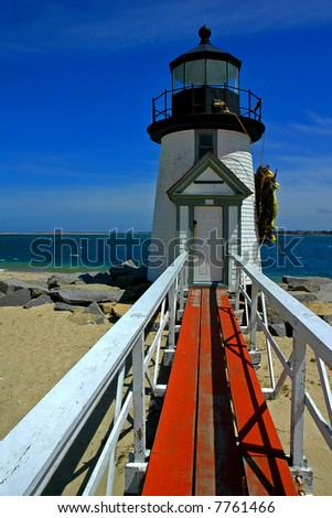 Lighthouse, Nantucket Island