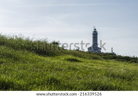 Lighthouse, Northern Spain coast