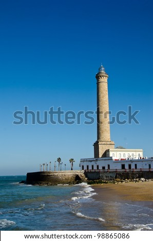 Lighthouse of Chipiona, the tallest in Spain