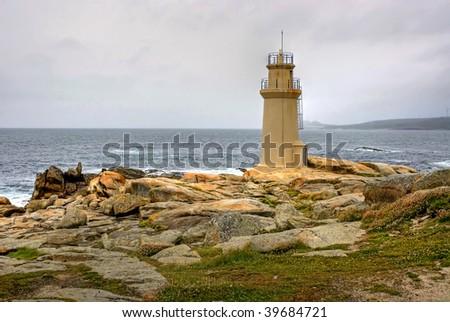 Lighthouse of Muxia - stock photo