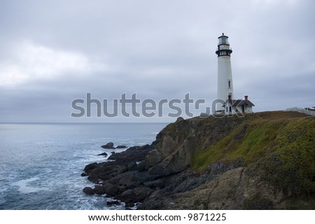 Lighthouse on the California Coast