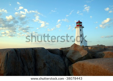 Lighthouse - Peggy cove