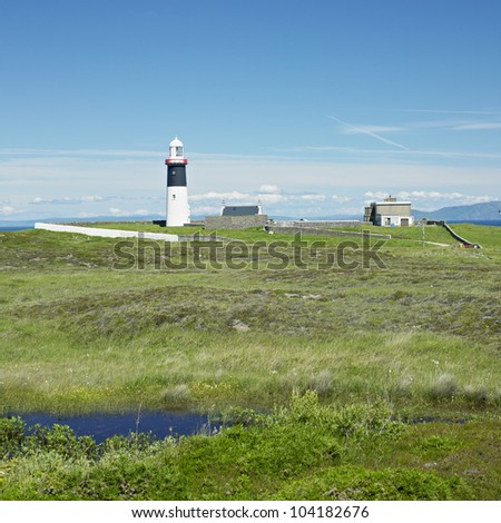 lighthouse, Rathlin Island, Northern Ireland