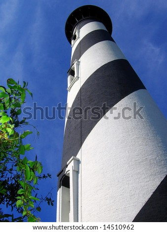 Lighthouse, St. Augustine, Florida - stock photo