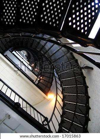 lighthouse, St. Augustine, Florida, USA - stock photo