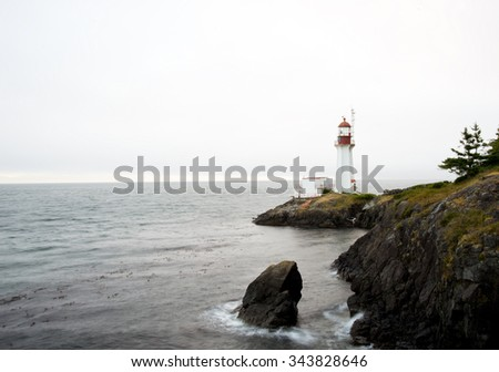 Lighthouse,Vancouver Island