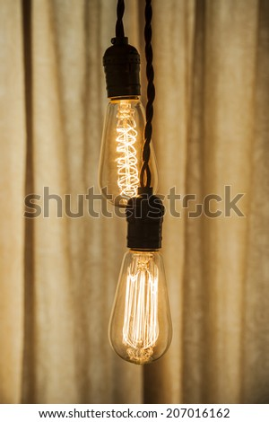 Lighting Decor - stock photo