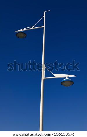 Lighting pole - stock photo
