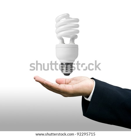 Lighting technology business concept