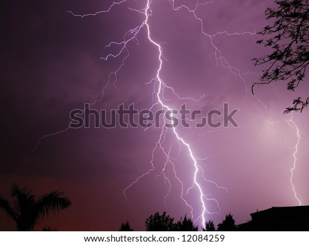 Lightning 2 - stock photo