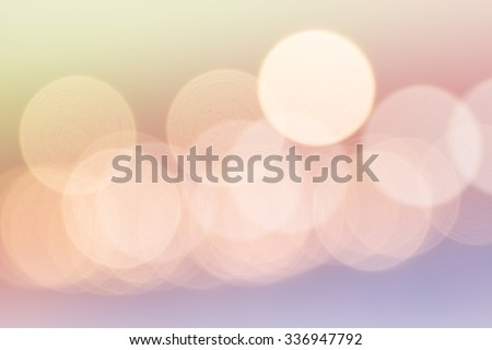 Lights blurred bokeh background in Thailand festival night party