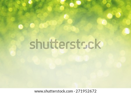 Lights on green background - stock photo
