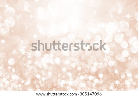 Lights on pink with star bokeh background. - stock photo