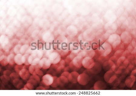 Lights on red background. - stock photo