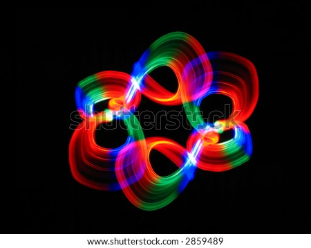 like flower (abstraction) - stock photo