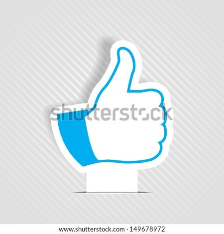 Like symbol - stock photo