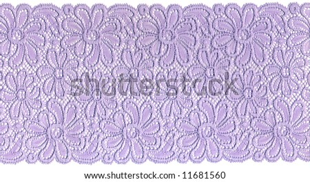 lilac lace - stock photo
