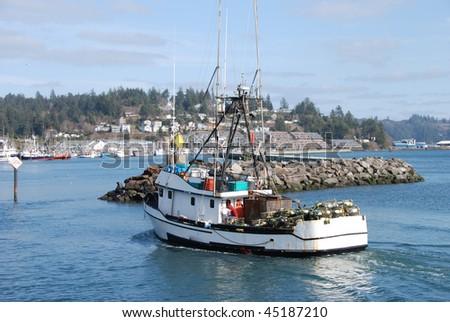 Newport oregon stock images royalty free images vectors for Crab fishing oregon