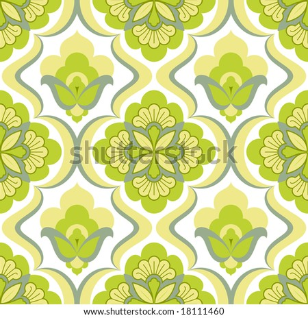 Lime Green Swatch Or Wallpaper