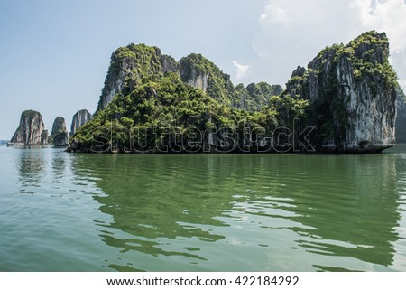 Limestone Karsts Picture - stock photo