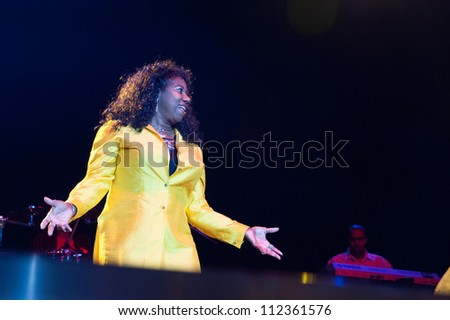 LINCOLN, CA - SEPT 7: S.O.S. performs at Thunder Valley Casino Resort in Lincoln, California on September 7th, 2012