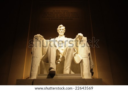 Lincoln memorial - stock photo