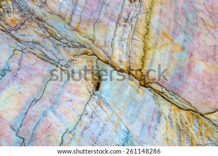 Line curve on Marble stone texture background  - stock photo