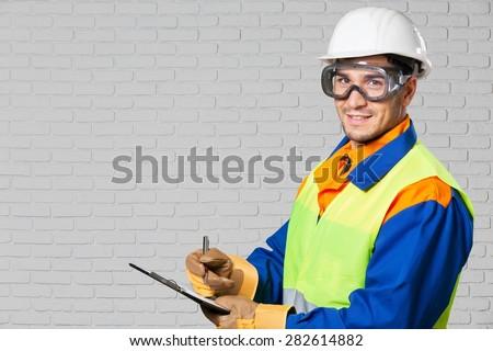 Line, engineering, audit. - stock photo