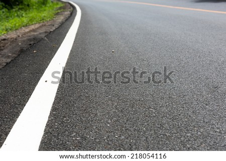 line on the road texture