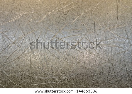Line pattern on plastic partition - stock photo