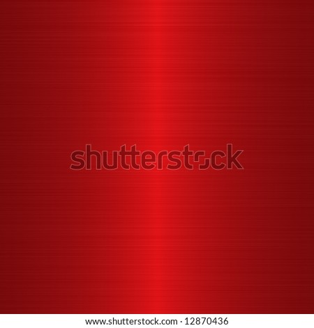 linear brushed crimson red background with central highlight - stock photo