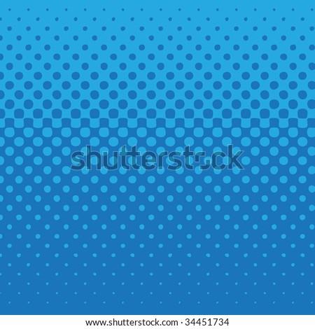 linear halftone tone background blue - stock photo