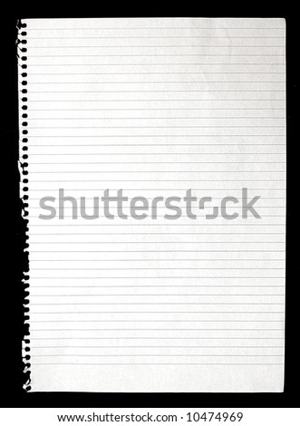 Lined Paper Texture - Stationary Textures Series