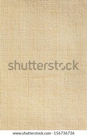 Linen canvas texture background  - stock photo