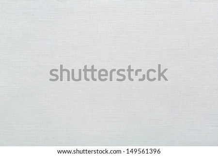 linen natural white texture background - stock photo