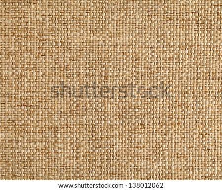 Linen texture - stock photo