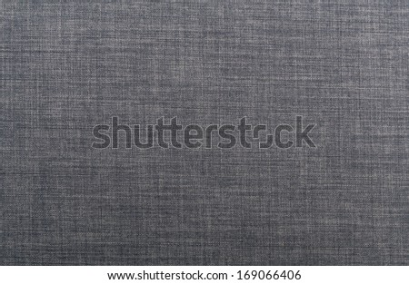 Linen texture in navy blue - stock photo