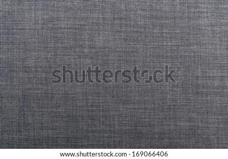 Linen texture in navy blue - stock photo