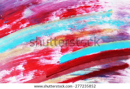 Lines background or Creative background, Colorful background, Blue line - stock photo