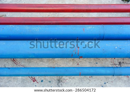 Underground pipes stock images royalty free images for Best pipe for water lines