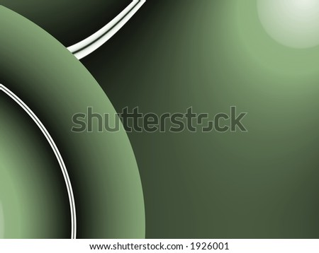 Lines on Green - Illustration