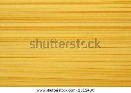 Linguine pasta, dried - stock photo